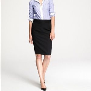 Navy Blue Number 3 pencil skirt